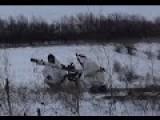 Eng Subs SPG-RPG-AGS Strike At UA Mortars. At The Frontline: Granitnoye Settlement