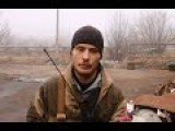 Eng Subs Ukrainian Troops Keep Shooting At Us Interview From The Donetsk Frontlines