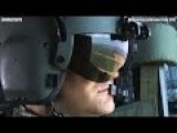 Exercise VIBRANT RESPONSE ! US Army Chinook Helicopter Flight.View From Inside