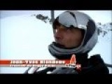 Extreme: Jean-Yves Blondeau Rollerman Takes To The Slopes