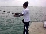 Example When Fishing Casting Techniques