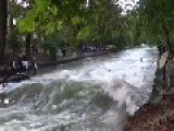 Eisbach River Is Perfect For Munich Surfers