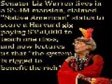 ELIZABETH WARREN THE LIBERAL'S HYPOCRISY ON DISPLAY