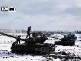 Exercises Militia Tanks
