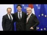 EU-Canada Trade Deal Signed, But Battle Not Over