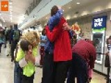 Emotional Reunion For Adopted Boys