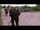Eng Subs Verungka Defense Combat Footage 11-13 08 14. LPR Militia RRG Batman Working