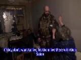 Eng Subs NAF Ghost Brigade Enters Debaltsevo And Evacuates 135 Civilians