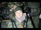Eng Subs Interview With 17 Years Old Female NAF Soldier. Donetsk Airport 24 10 14