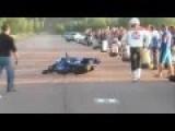 Epic Fail Motorcyle Vs Car Sport