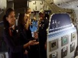Eloping Couple Have A Surprise Mid-Flight Wedding