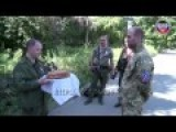 Eng Subs Shakhtyorsk Thanks DPR Defense Minister He Used To Be Commander Of Militia Forces During Fights For Town