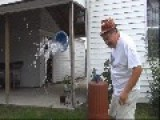 Extreme Ice Bucket Challenge Fail