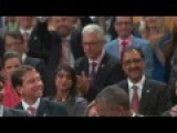 Entire Canadian Parliament Chant 4 More Years After Obama Address