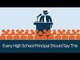 Every High School Principal Should Say This - PragerU