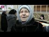 Eng Subs Aid For Pensioners Paid In Petrovsky District Of Donetsk