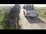 Entire FSA Truck Vaporized By Unknow Explosion