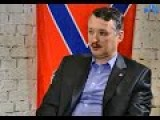 Eng Subs Igor Strelkov Interview About Novorossia Public Movement