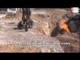 English Subs: Moderate Syrian Rebels Blow Up The Arab Gas Pipeline In Eastern Homs Countryside