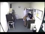 Employee Caught On Camera Giving Free Milk From Her Body To Co-Worker