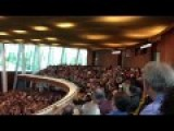 Eagle CRASH At Oral Roberts University Chapel