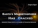 Earth's Magnetic Field Has Cracked