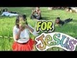 Eating Grass For Jesus!