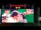 Everyone Gives In To The Kiss Cam