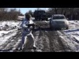 Eng Subs Surrendering UA Soldiers Attacked By UAF Barrier Squad. NAF Cover The Evacuation Of POWs