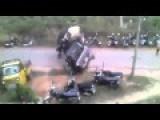 Elephant On A Rampage