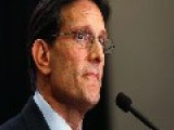 Eric Cantor's Defeat Pays Off With $1.4M Wall St. Signing Bonus