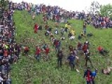 English Cheese-Rolling And Broken Bones!