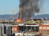 Fire Destroyed Appartment Development In San Francisco