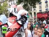 France: Pro-Palestine Transformers Engage In 'Day Of Rage' Against Israel