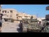 FSA T55 Tank Blown Up At Close Range