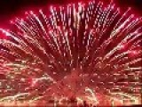 Fireworks Display Ends With An Awesome Bang