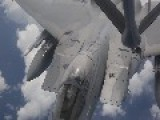 F-15 Fighters Refueling Midair HD