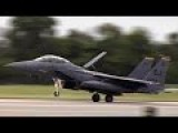 F-15E Strike Eagle Return Home After Hurricane