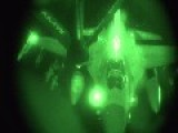 F-16 Refueling At Night Fully Armed From Last Night's Air Strike Activity