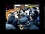 Fights Between Right Sector And Ukraine Police In Sumy Rada 26 Feb 2015