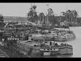 Film-Like Photographic Sequence Of Union Vessels Along The James River During The Civil War