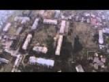 Flying Over Pesky Village Near Donetsk Airport, Catastrophic Destruction