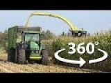 Free 360 Degree Video Of Corn Harvester In Action