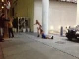 Female Altercation Outside W Hollywood Hotel Girl Drags Her Friend By The Hair Like Luggage!