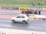 Fiat 126 V8 VS Porsche 911
