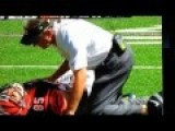 Football Player Dislocated Elbow