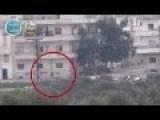 Funny: Assadi Terrorists Under Fire Fleeing Like Rats