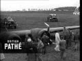 Flying Fortress Crash Landing 1944
