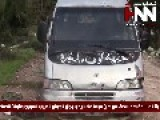 FSA Weapons And Vehicles Seized By Syrian Arab Army And National Defence Force In Homs