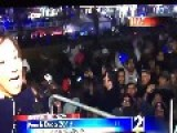 Fight Breaks Out During 2015 Peach Drop Event In Atlanta!
